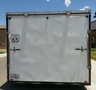 Interstate Enclosed Trailer 20x8.  5x7 Car Hauler Utility Tittle Cl photo