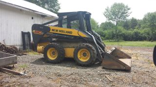 2008 Holland Skid Steer Loader L180 With 426 Hours photo