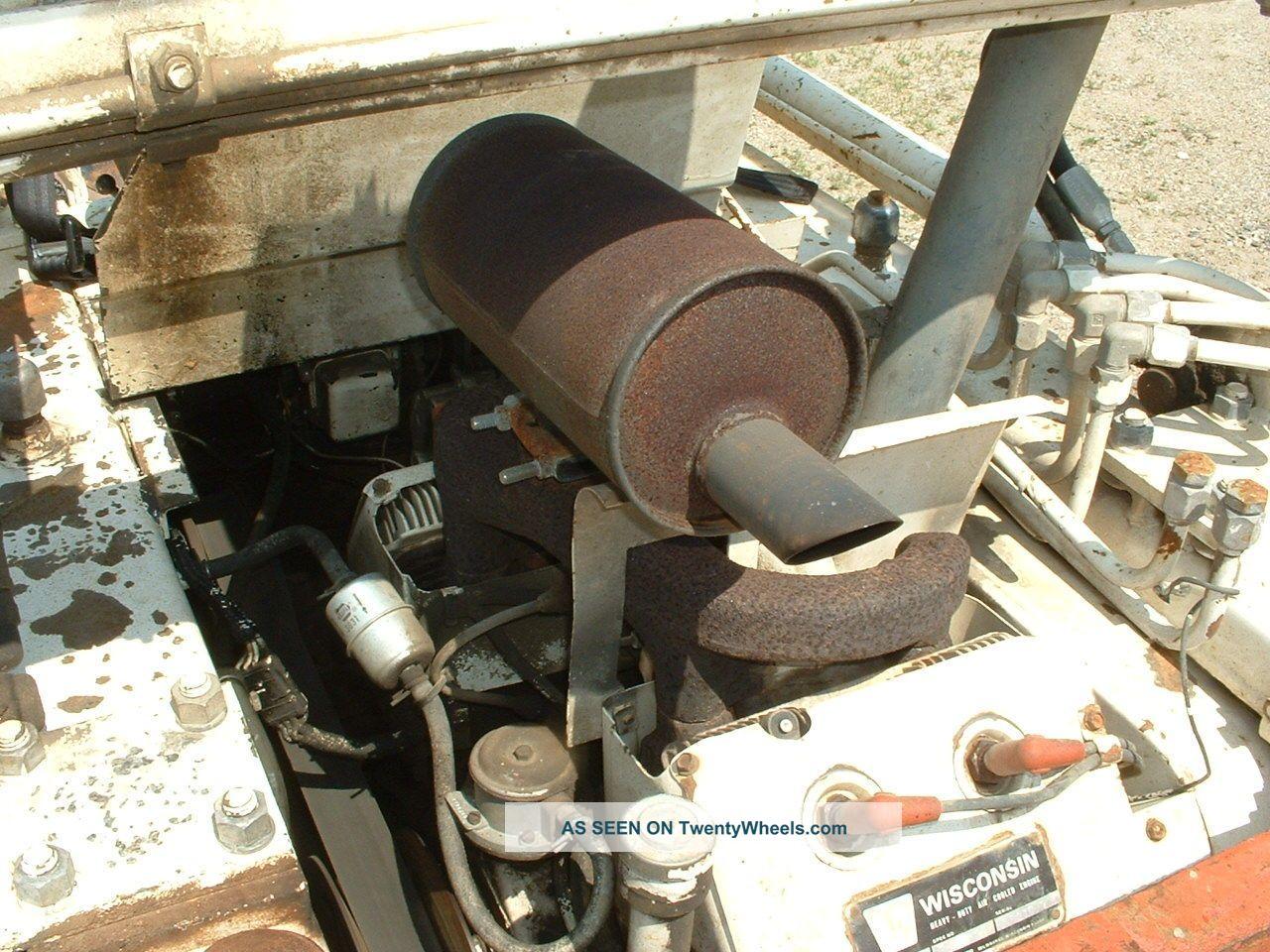 1973 Bobcat 610 Skid Steer Loader Gas