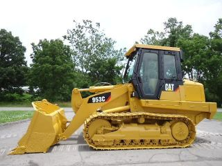 2003 Caterpillar 953c Crawler Track Loader With A/c Cab photo