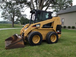 2004 Cat 246 Skid Steer Caterpillar Bobcat photo