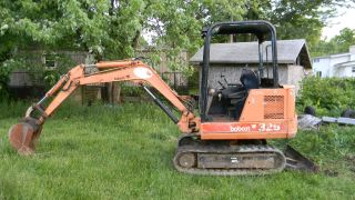 Bobcat 325 Mini Excavator Construction Heavy Equipment, ,  Video photo