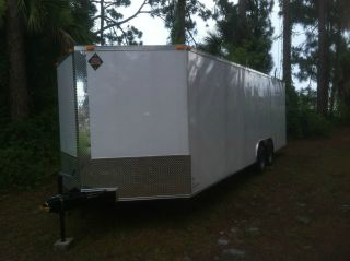 Enclosed Trailer 8.  5 ' X 24 ' V Nose photo