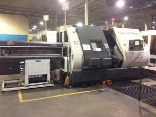 2005 Nakamura Tome Wt - 300mmsy 8 - Axis Cnc Turning Center Live Tooling And Y - Axis photo