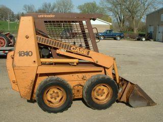 1990 Case 1840 Skid Steer Loader photo