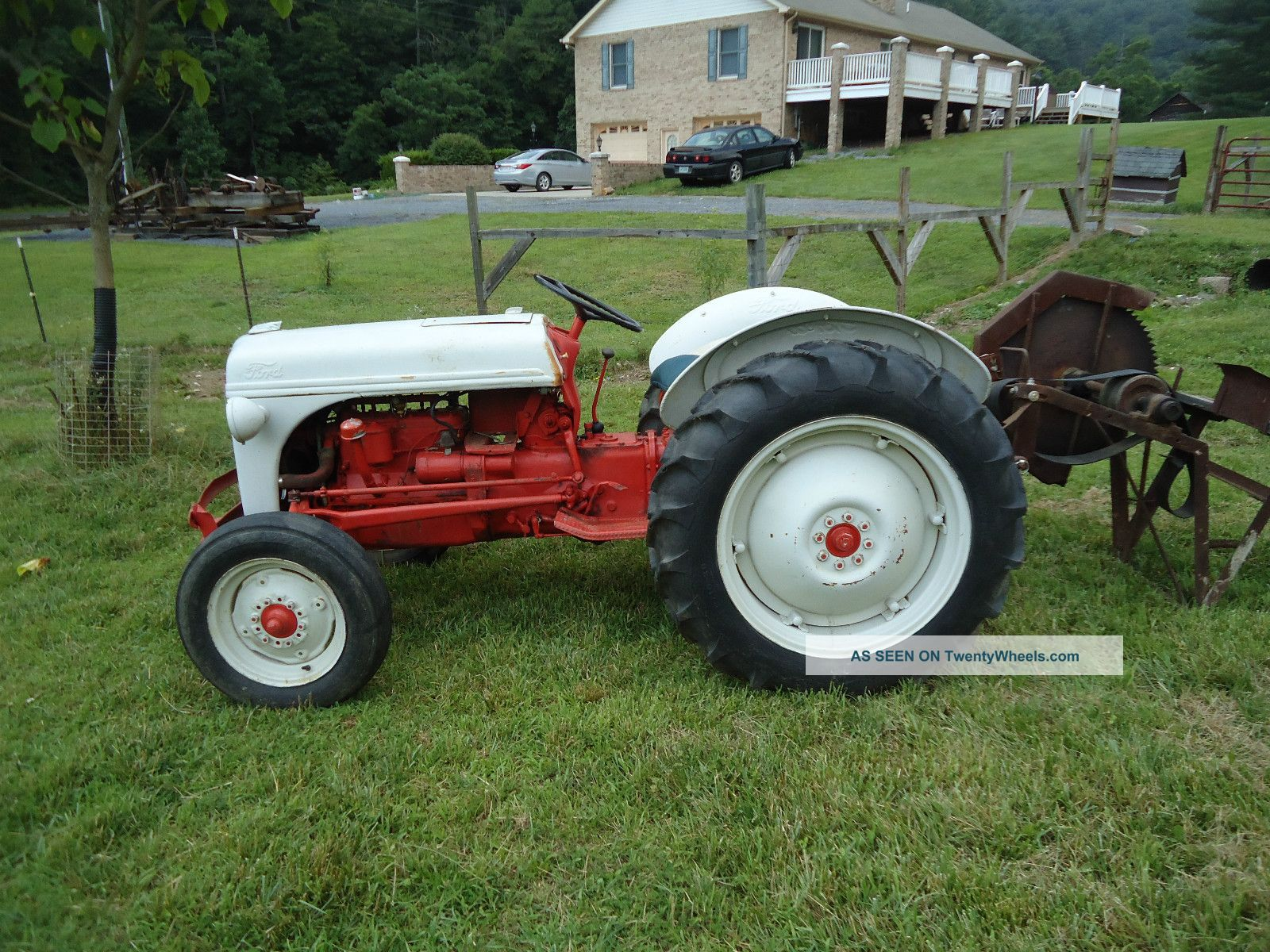 8n Ford Tractor Clutch Stuck : Ford n tractor specs autos post