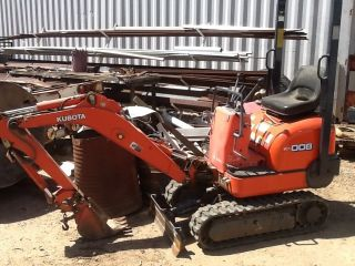 Kubota Mini Excavator photo