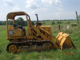 John Deere Crawler Loader 455e photo