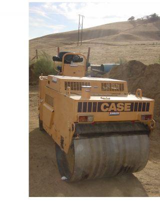 Case Vibratory Asphalt Roller,  1200 Hours photo