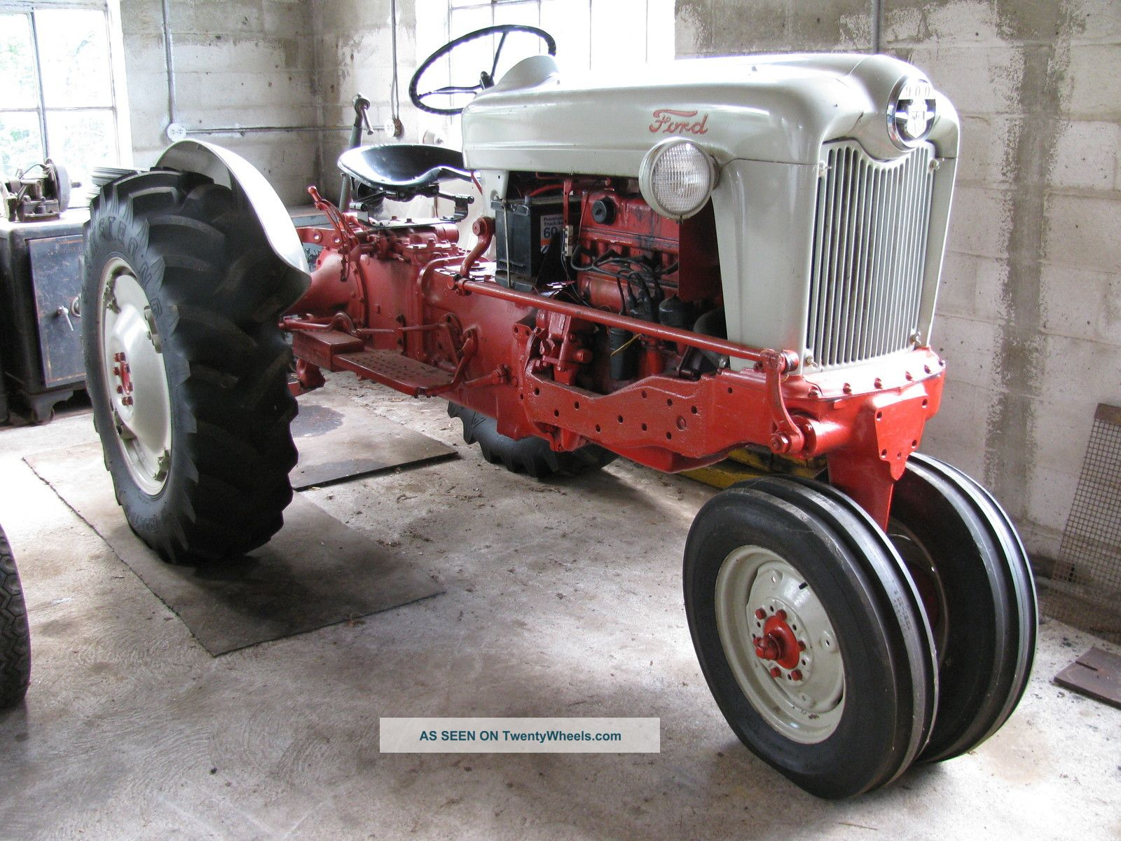 Ford Farm Tractors : Wiring diagram ford tractor
