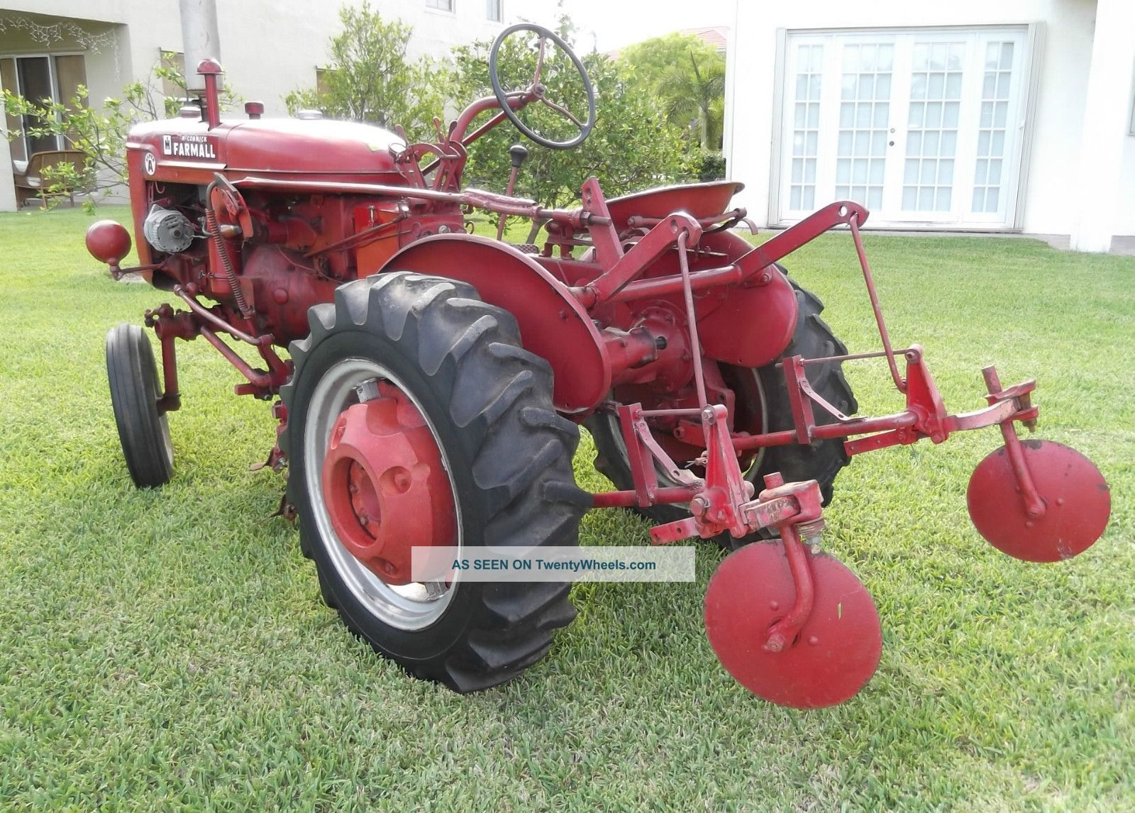 Farmall Super A Cultivator : Farmall a with cultivators listers hydraulics good