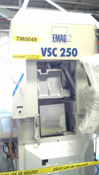 Emag Vsc 250 Cnc Vertical Turning Center Lathe Mill photo
