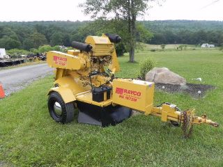 2002 Rayco Rg1672m 1672 Towable Stump Grinder Deutz Turbo Diesel Vermeer Cutter photo