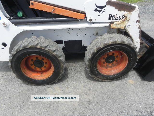 2003 Bobcat 763 G Series Skid Steer Loader Kubota Diesel