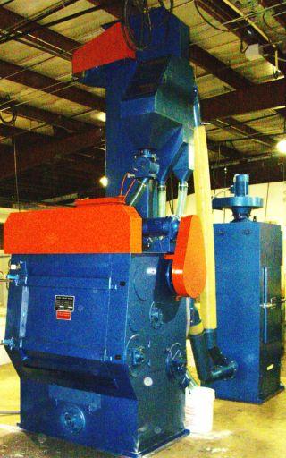 Rubber Belt Tumble Blast Type Machine,  Shot Blast,  Shotblast,  Shotblaster photo