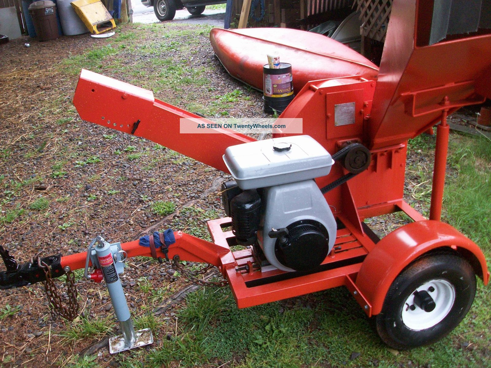 Sidewinder Wood Chipper,  With Wiscosin/robbins Engine Wood Chippers & Stump Grinders photo