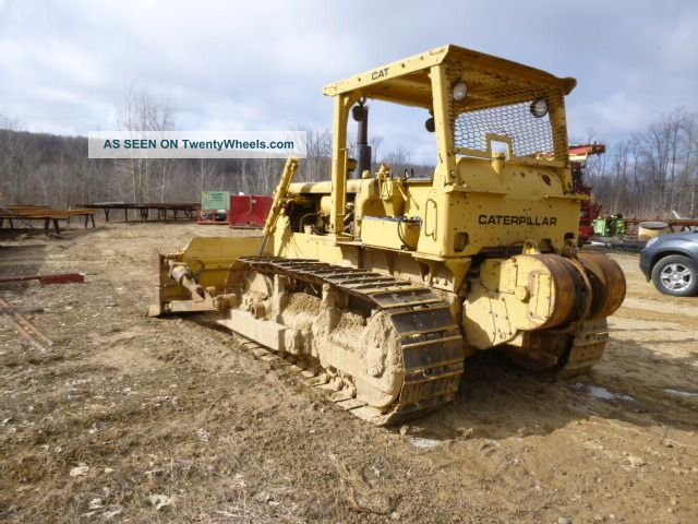 how to start a d6 cat dozer