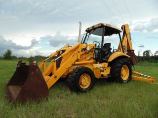 2000 Jcb 214 Series 3 Loader Backhoe 4x4 Extendahoe In Mississippi photo