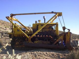 Vintage D6 Cat Bulldozer photo