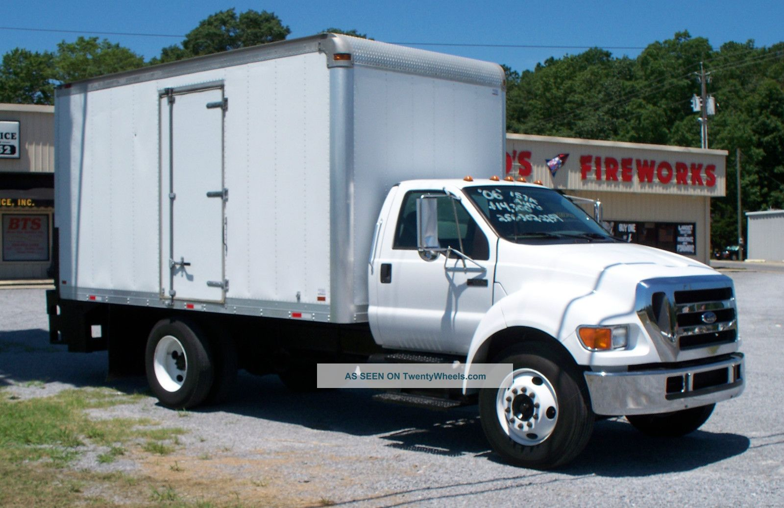 F650 Box Truck For Sale Images