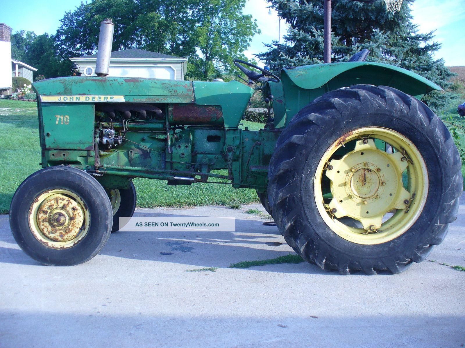 Rare John Deere Tractors : Rare john deere diesel tractor