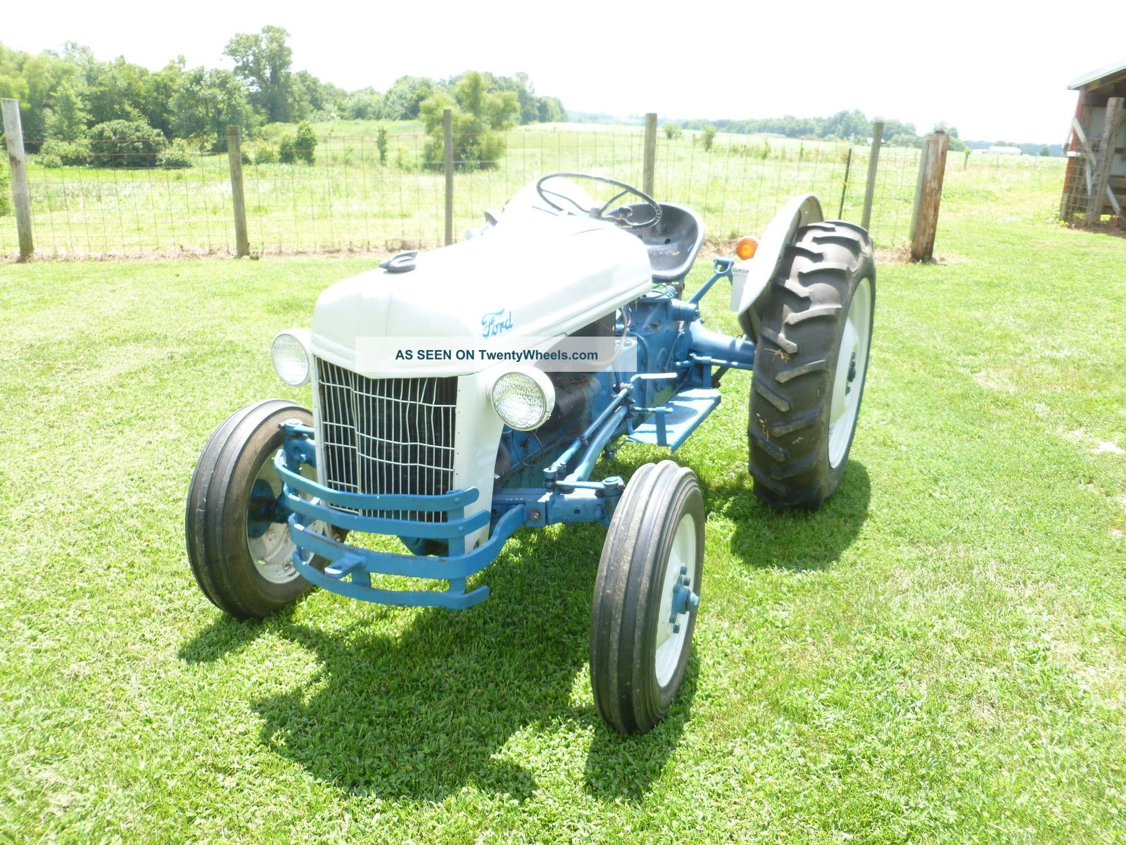 1950 Ford Tractor Tractor Vermilion : Ford farm tractor