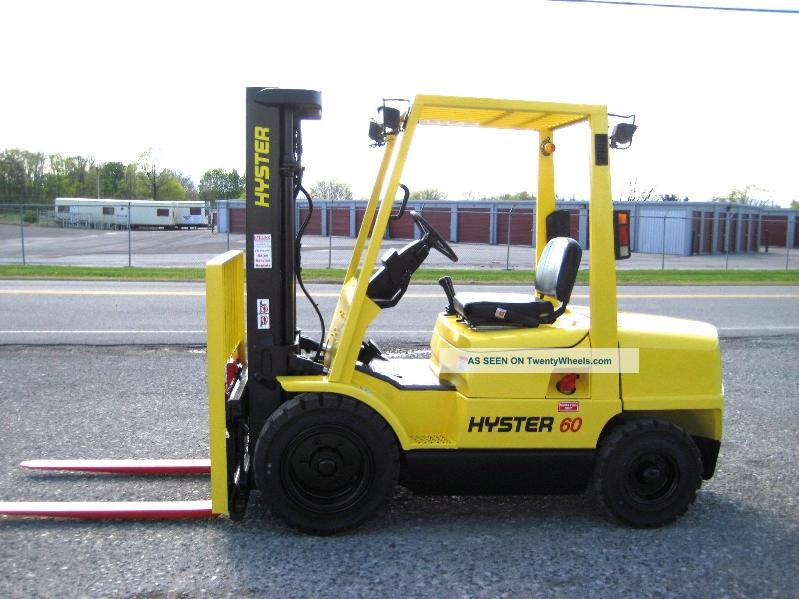 Forklift Operating amp Maintenance Manuals Hyster