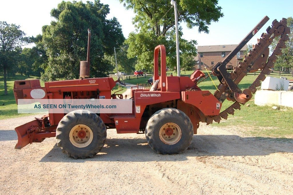 6510 ditch witch trencher