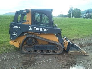 2012 John Deere 319d Track Loader photo