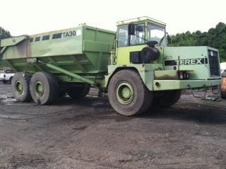 Terex Ta 30 Off Road Articulating 30 Ton Dump Truck With photo