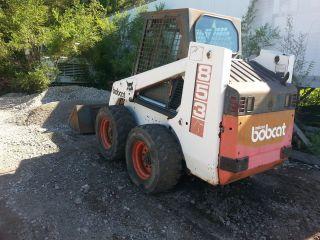Bobcat 853 Skid Steer Loader - photo