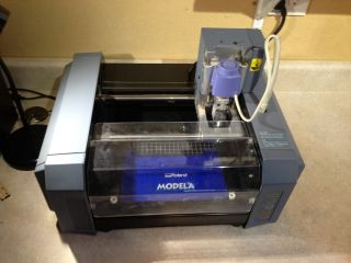 Roland Mdx - 20 Desktop Cnc Mill And Built In 3d Scanner photo