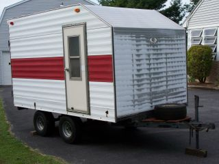 6x10 Enclosed Motorcycle,  Cargo Trailer photo