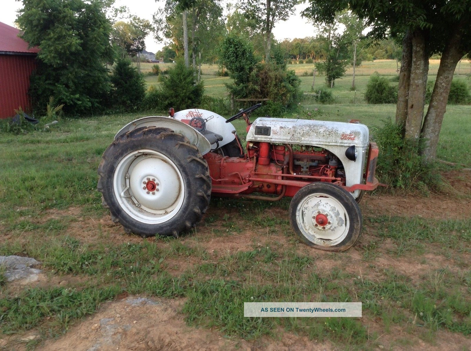 Old Ford Tractor Decals : Ford n tractor vintage running and working fine