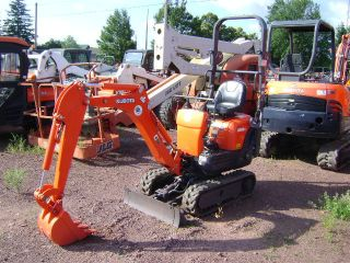 2012 Kubota K008 - 3 Mini Excavator Retracting Rubber Tracks 12