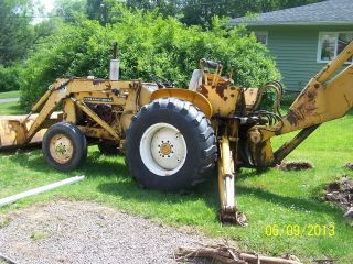 Mid Sixties International Backhoe photo