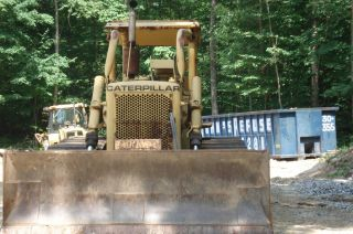 Bulldozer Cat D5 Dozer 4 Way Blade Auto Transmission photo