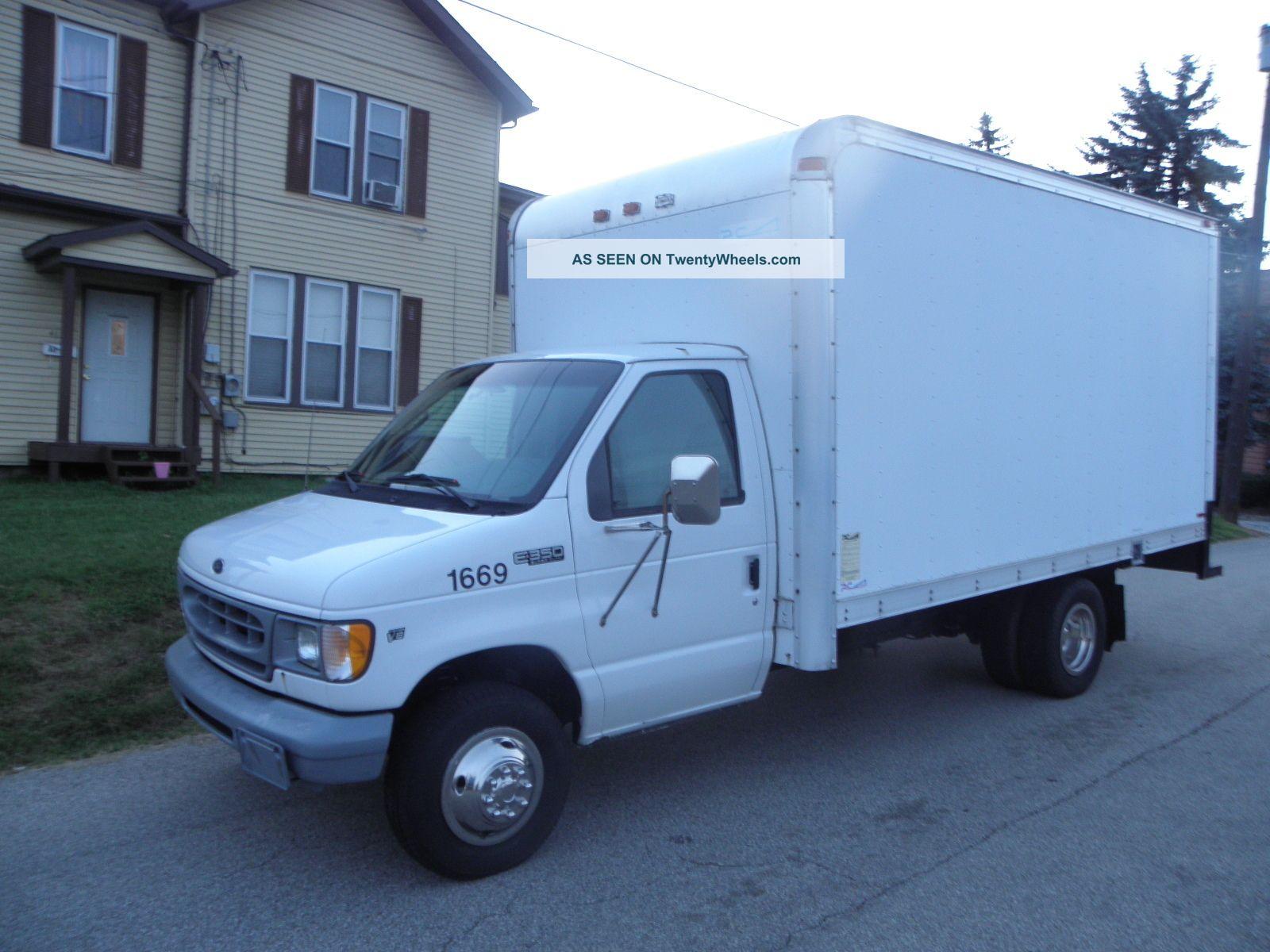 ford e350 box truck autos post. Black Bedroom Furniture Sets. Home Design Ideas