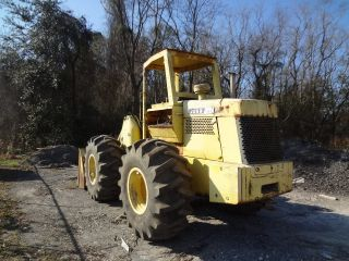 John Deere 544a Wheel Loader With Forestry Tires Orops photo