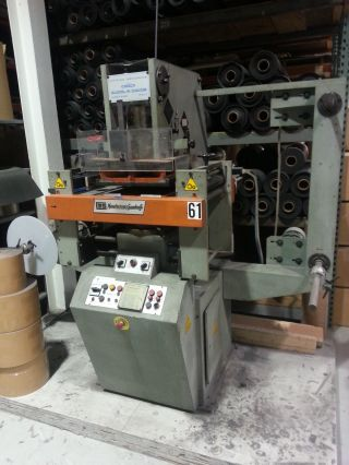 Guidolin Davide Gd401d Die Cutting Press With Unwind And Rewind (kiss Cutter) photo