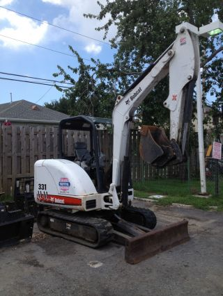 Bobcat 331 Mini Excavator photo