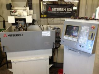 Mitsubishi Cx - 20 Wire Edm Machine photo