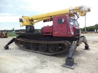 Nodwell 47 ' Crane 10 Ton Digger Derrick Bucket Truck Track Machine Upper&lowers photo