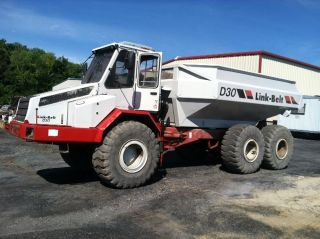 D 30 Link - Belt Off Road Articulating 30 Ton Dump Truck With photo