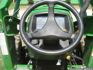John Deere Tractor 4510 4x4 photo