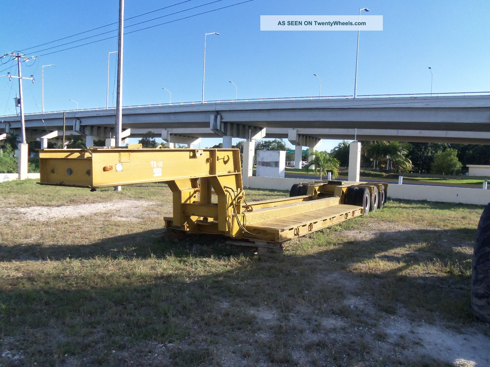 Rogers 35 Ton,  Hydraulic Removable Goose Neck Lowboy - Trailers photo