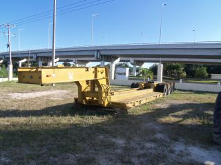 Rogers 35 Ton,  Hydraulic Removable Goose Neck Lowboy - photo