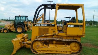 1997 John Deere 450g Series Iv Bulldozer Crawler 2536 Hours photo