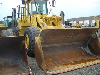 1984 Caterpillar 966d Wheel Loader photo