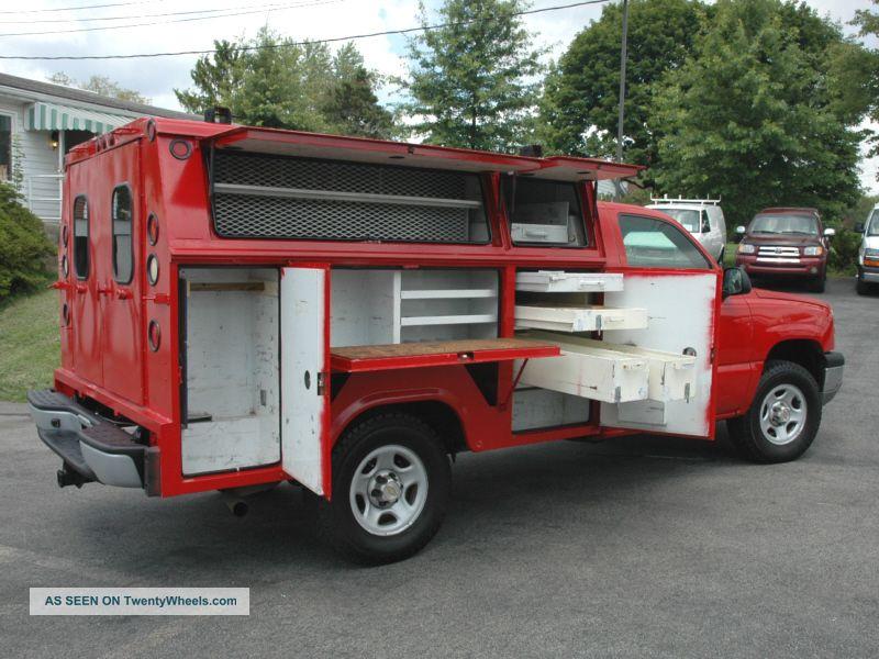 Chevrolet Silverado Utility Service Truck Lgw